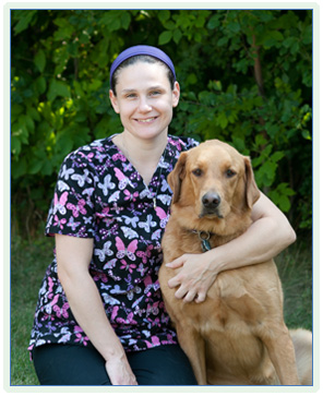 Kim, veterinary assistant